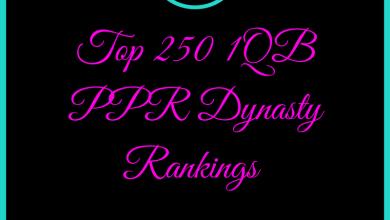 dynasty rankings