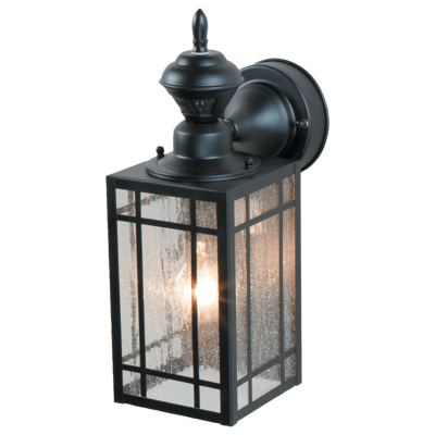150 Degree Motion Activated Decorative Light - HeathZenith on Decorative Wall Sconces Non Lighting id=24104