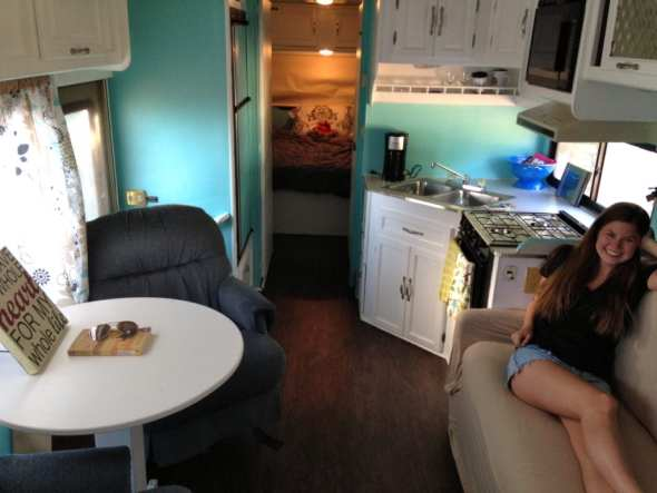 The remodel of our RV