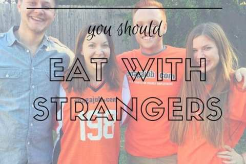 EAT WITH STRANGERS