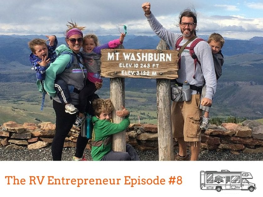 RVE 008: Starting a Virtual Assistant Business on the Road