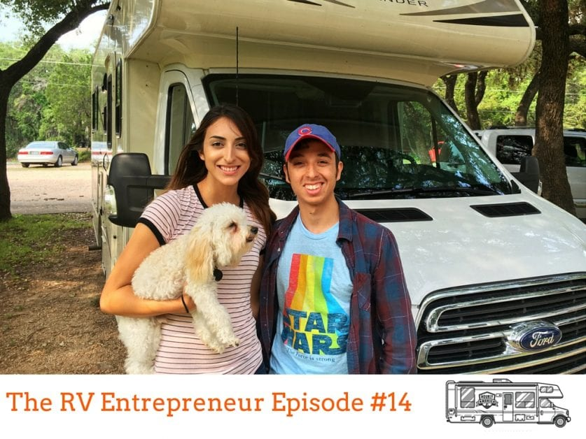 RVE 0014: 23 Year Old Mark Cuda Travels in an RV and Writes… Words?