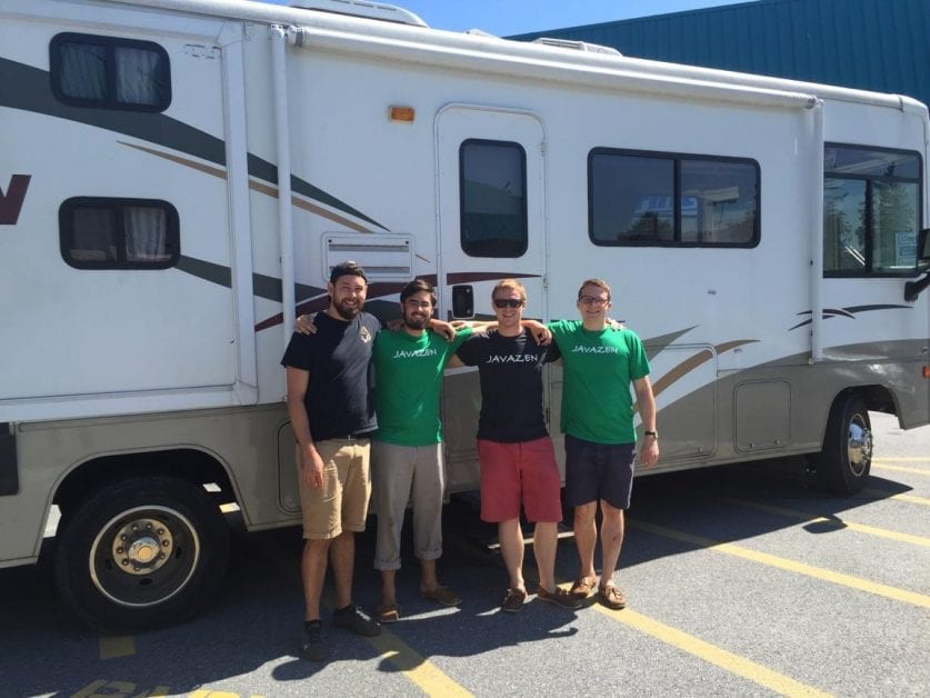 RVE 0032: Why Javazen's Four Cofounders Spent 30 Days Driving Around the Country in an RV