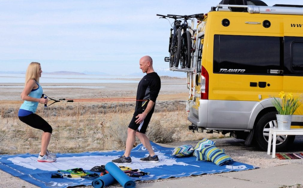 RVE 0062: Road Life Fitness and How Not to be a Lazy Bum While Traveling