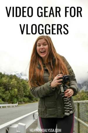 video gear for vloggers