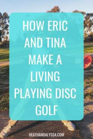 make money playing disc golf