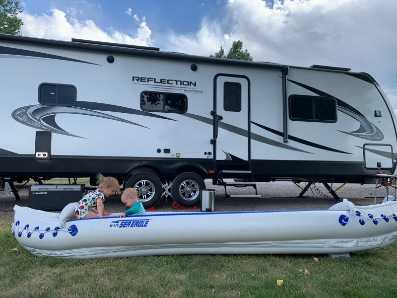 rving with a toddler