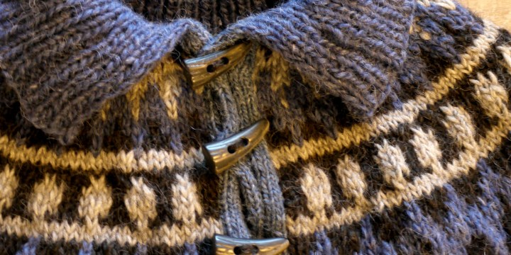 Garri jumper in Alafoss and Lettlopi