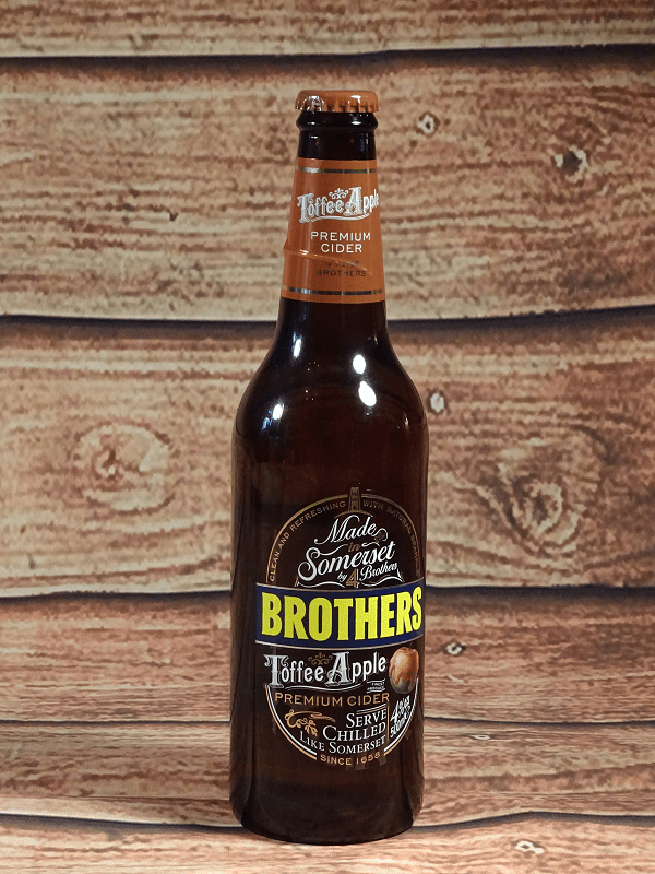 Brothers cider - Apple toffee