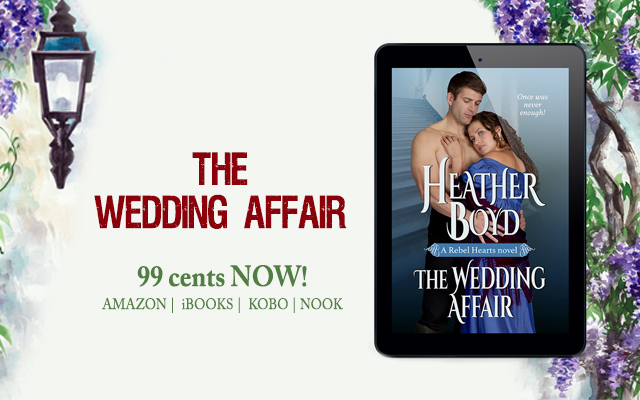 The Wedding Affair on sale banner