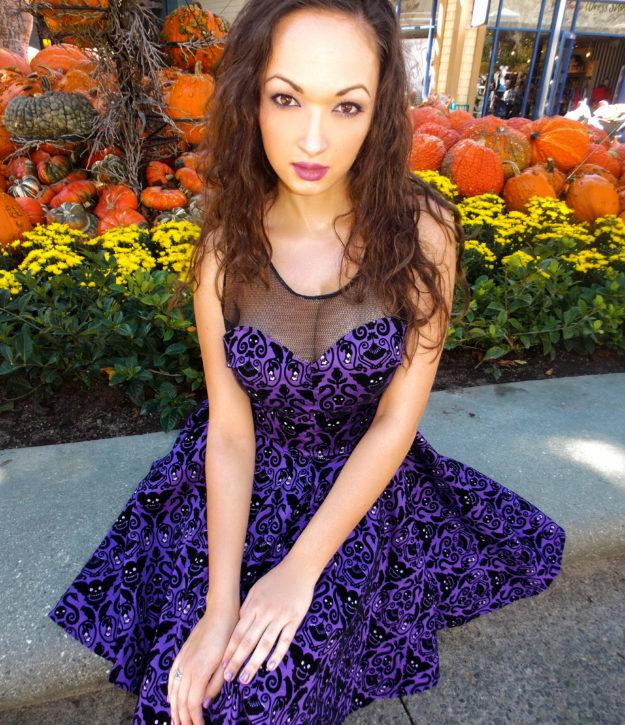 Disney Haunted Mansion Inspired Tea Dress