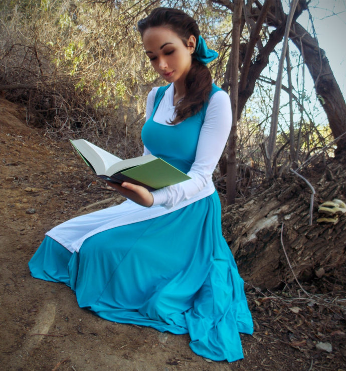 Heather Spears Disney Belle Cosplay