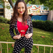 Minnie Rock The Dots Day Black and White Polka Dot Jacket and Pants Set