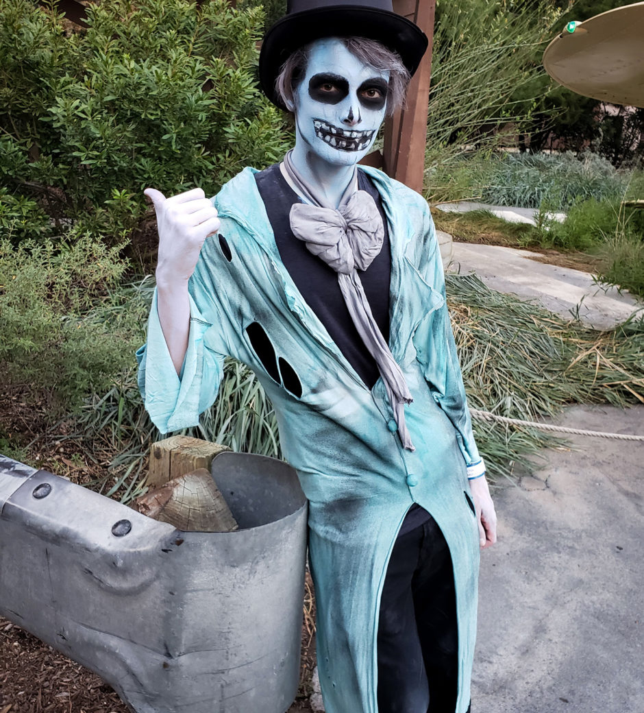Ezra the Hitchhiking Ghost Costume by Heather Spears