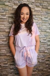 Tie-dye pajama set from Luvamia Fashion on Amazon