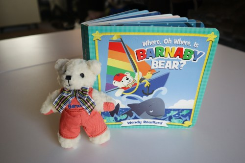 Where Oh Where is Barnaby Bear Book and Buddy for Kids