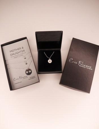 Eerin Pelicano Fine Jewelry Mother Daughter Necklace