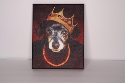 Iconic Paw Custom PEt Painting From Summer Fun Gift Guide
