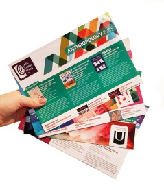 Leaflet design for prior employer.