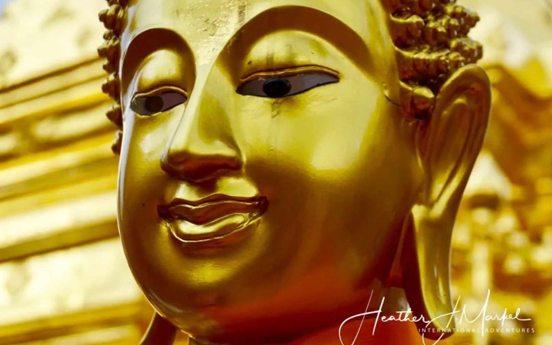 buddha in Bangkok, ,Thailand