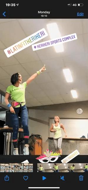 Latin Fit dance class in Kerikeri