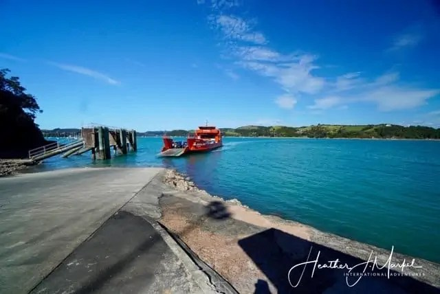 ferry at Waiheke island Kennedy