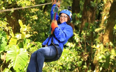 Lessons Learned From Traveling – How Ziplining In Costa Rica Taught Me To Live In The Present