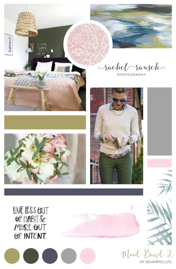 Heather Dauphiny Creative | Mood Board - My Revamped Life by Erika Jarvis