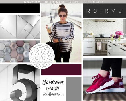 Heather Dauphiny Creative | Mood Board - Living Well With Nic