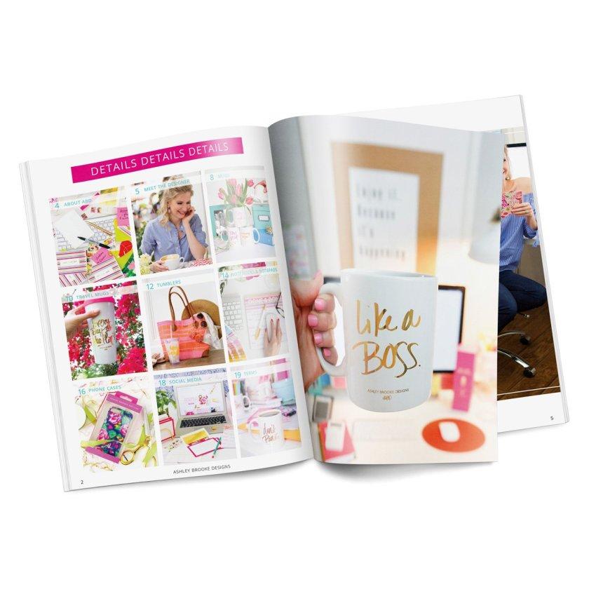Heather Dauphiny Creative | Ashley Brooke Designs Wholesale Catalog