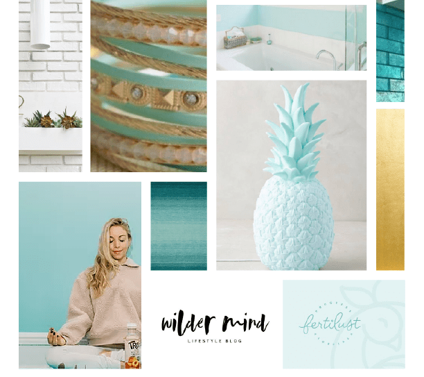 Mood Board The Well Necessities Brand Identity