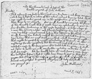 John_Hathorne_Court_Document_March_7,_1665_-_NARA_-_192936