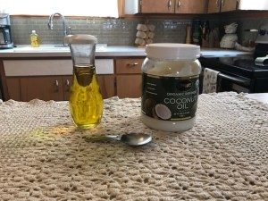 ingredients for oil pulling