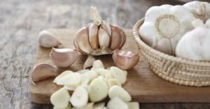 slices of garlic