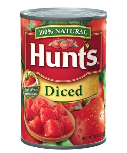hunt's diced tomatoes