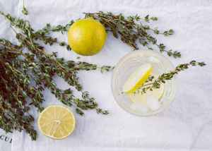 Thyme and Lemon Water #heatherearles #herbnwisdom #naturalliving #saladdressings #podcaster #author #healthblogger