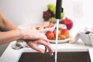 washing your hands is one of many ways to prevent the coronavirus. #heatherearles #coronavirus #gingertea #herbnwisdom #naturalliving #healthblogger #healthpodcaster #virushealing