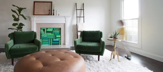 A Wild Hair And A Green Velvet Chair The Heathered Nes