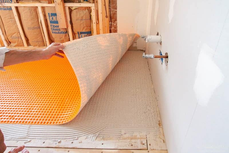 why we chose schluter ditra xl tile