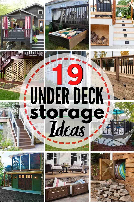 https heatherednest com under deck storage ideas