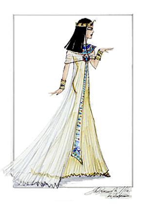 Princess of the Nile Barbie sketch