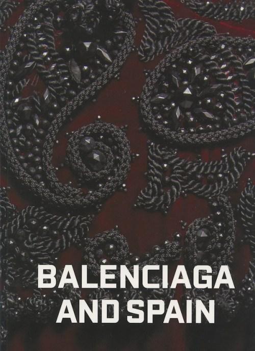 Balenciaga and Spain, the book