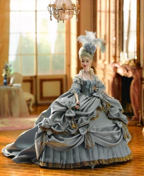 Barbie as Marie Antoinette