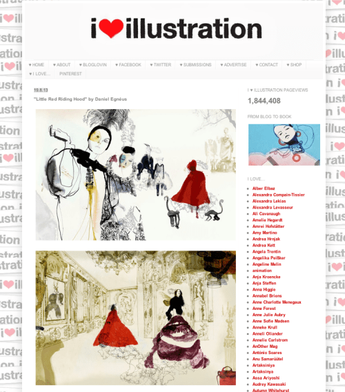 Illustration Blogs - I Love Illustration