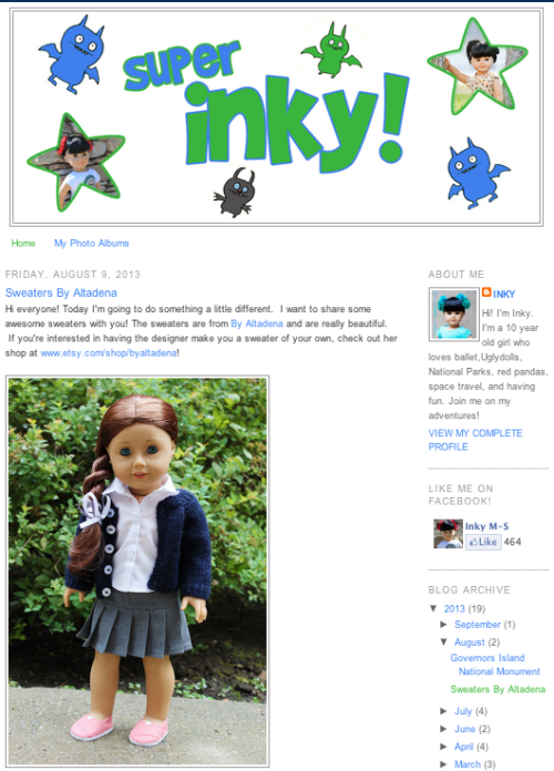 Doll Blogs - Super Inky