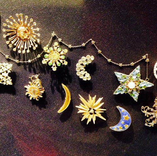 The Cosmic Connection: Vintage jewelry at The Griffith Observatory