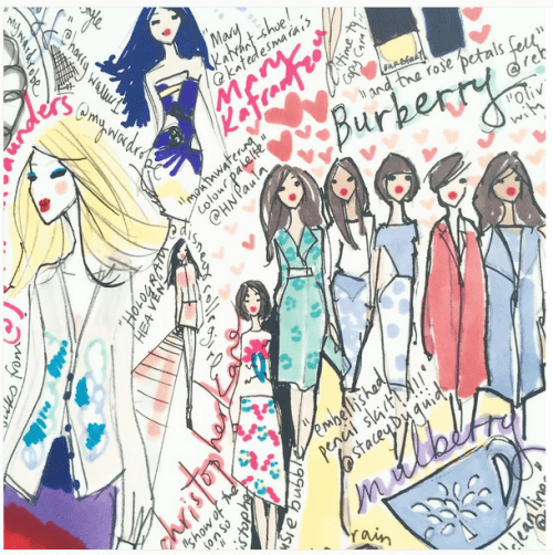 Miss Magpie Fashion Spy: Fashion Illustrators on Instagram