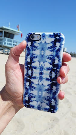 Nina May: Tie Dye Print phone case