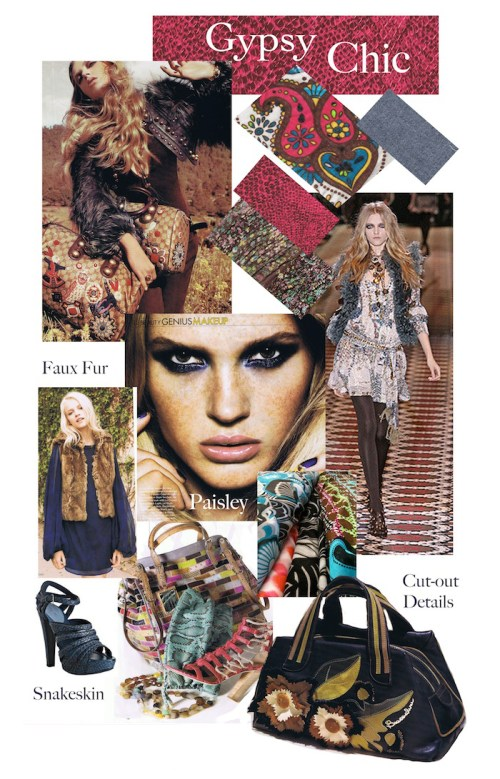 Gypsy mood board