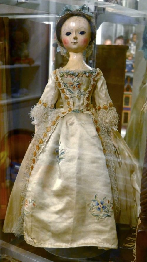 Antique Doll on display at Angel's Attic Museum